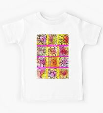 Painted Squares Art with Ornament Kids Clothes