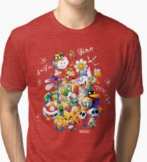Yoshi's Island 2 - スーパーマリオ ヨッシーアイランド Tri-blend T-Shirt