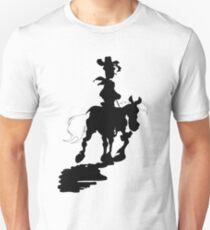 Lucky Luke Silhouette Unisex T-Shirt