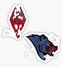 Skyrim Sticker Pack Sticker