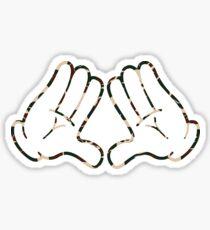 Hands(out) x Bape Sticker