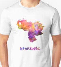 Venezuela in watercolor T-Shirt