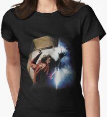Das Nebel-T-Shirt Tailliertes T-Shirt für Frauen