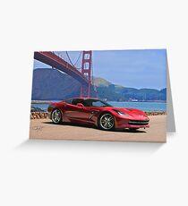 2014 Chevrolet Corvette Stingray Greeting Card