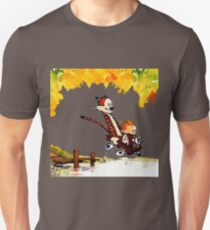 Play on lake Calvin and Hobbes T-Shirt