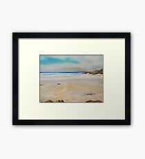 Cornish Beach Framed Print
