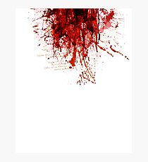 Blood (Last Breath) Photographic Print