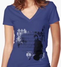 Sherlocked Melody Women's Fitted V-Neck T-Shirt