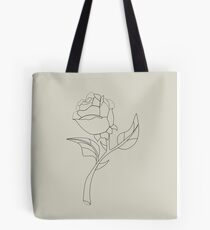 Beauty & The Beast Rose Tote Bag