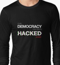 hacked Long Sleeve T-Shirt