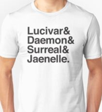 Lucivar & Daemon & Surreal & Jaenelle T-Shirt