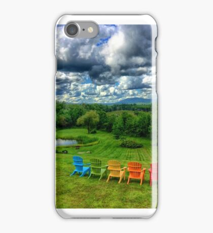 Cellar Door Winery, Lincolnville, Maine iPhone Case/Skin