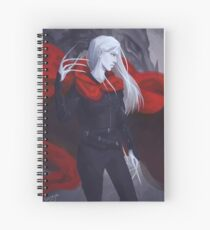 Manon Blackbeak Spiral Notebook