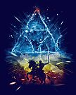 triforce storm-rainbow version by frederic levy-hadida
