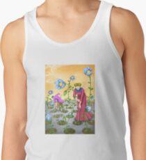 Camiseta de tirantes Flor
