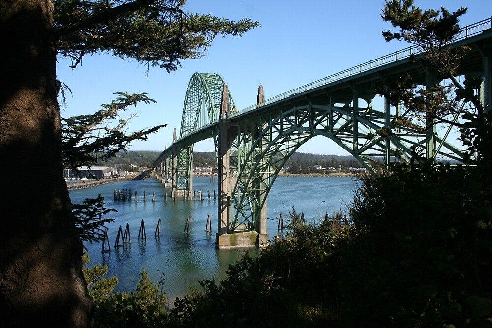 Yaquina Bay Bridge by Randy Richards