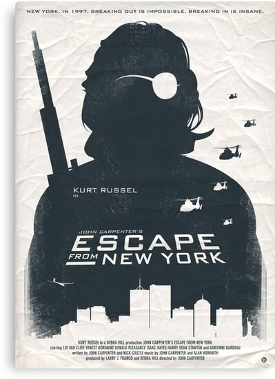 Escape From New York by Alain Bossuyt
