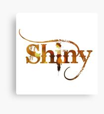 Shiny Canvas Print