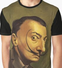 salvador dali / caricature Graphic T-Shirt