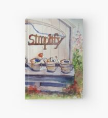 Simplify Hardcover Journal