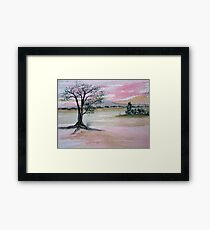 One Tree Framed Print