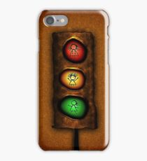 Fun with Traffic Signals iPhone Case/Skin