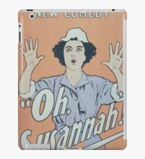 Performing Arts Posters Charles Frohmans new comedy Oh Susannah 0847 iPad Case/Skin