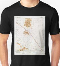 USGS TOPO Map Arizona AZ Red Rock 314958 1963 62500 T-Shirt