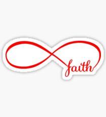 Infinite Faith Sticker