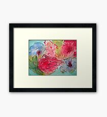 Flowers! Framed Print