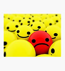 Why so sad? Photographic Print