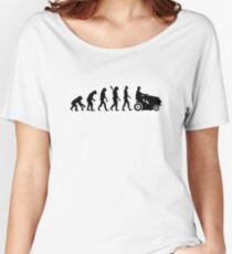 Evolution lawn mower Women's Relaxed Fit T-Shirt