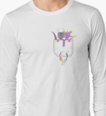 Pocket Spyro And Cynder Long Sleeve T-Shirt