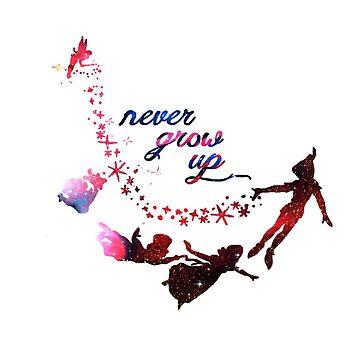 Never Grow Up Nebula  by HOMEBACK
