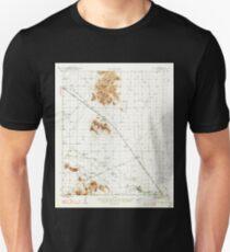 USGS TOPO Map Arizona AZ Red Rock 314955 1947 62500 T-Shirt