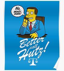 Better Call Hutz Poster
