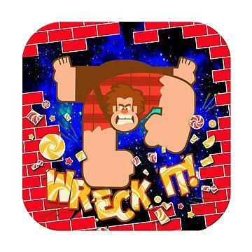 Wreck it Ralph by HOMEBACK