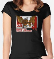 Kingston Falls Chicken Women's Fitted Scoop T-Shirt