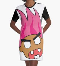 angry zombie troll Graphic T-Shirt Dress