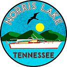 NORRIS LAKE TENNESSEE BOATING BOAT TN NAUTICAL TN by MyHandmadeSigns