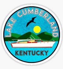LAKE CUMBERLAND KENTUCKY HOUSEBOAT BOAT BOATING NAUTICAL KY Sticker