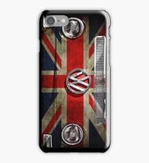 UK flag VW iPhone Case/Skin