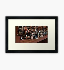 Cobblestone Joe's Framed Print