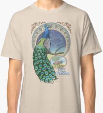 Pavo the Peacock Constellation Art Nouveau Style Classic T-Shirt