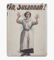 Performing Arts Posters Charles Frohmans new comedy Oh Susannah 0845 iPad Case/Skin