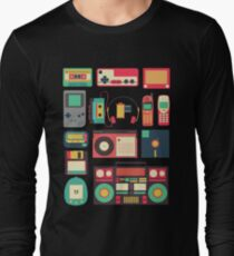 RETRO TECHNOLOGY 1.0 Long Sleeve T-Shirt