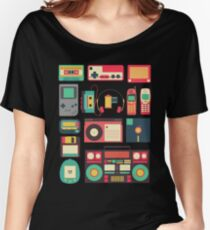 RETRO TECHNOLOGY 1.0 Women's Relaxed Fit T-Shirt