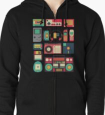 RETRO TECHNOLOGY 1.0 Zipped Hoodie