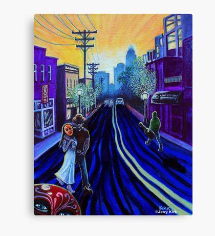 'North Davidson Street' Canvas Print