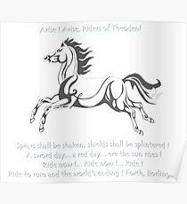 Ride Rohirrim! Poster
